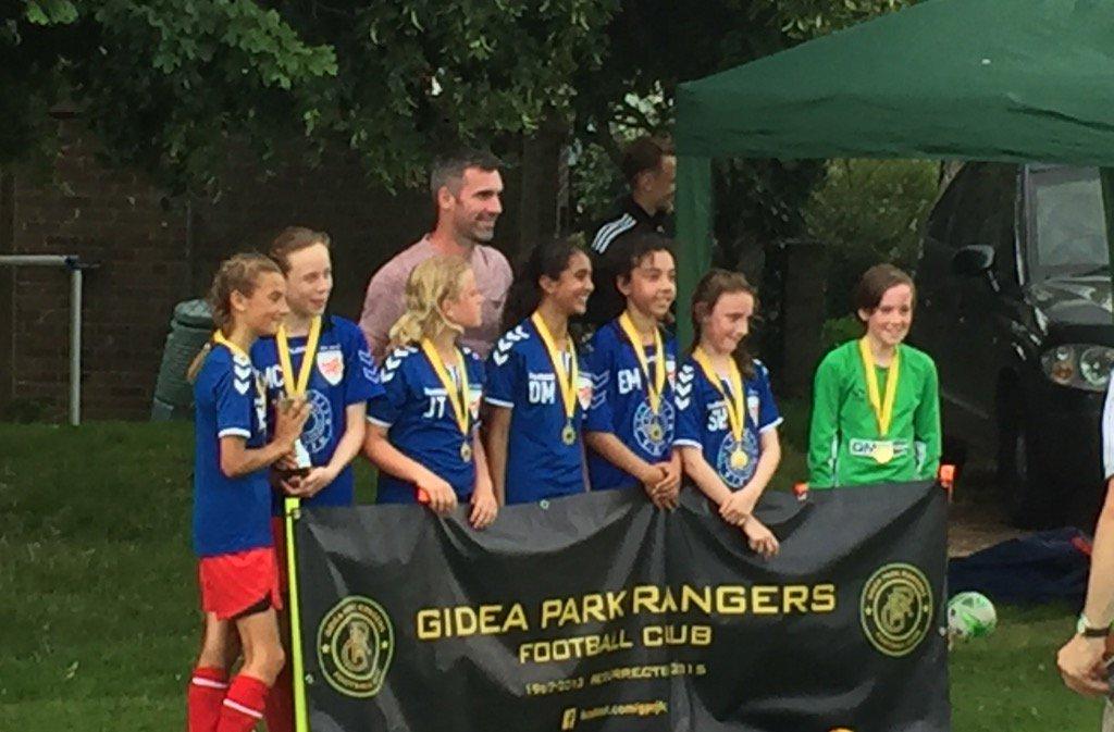 U11 winners at Gidea Park Tournament