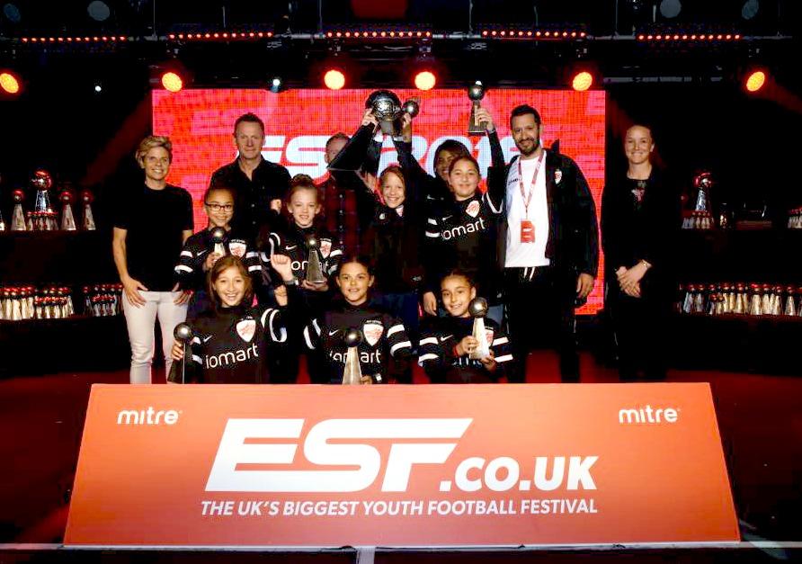 AFC Leyton U10s are ESF Champions