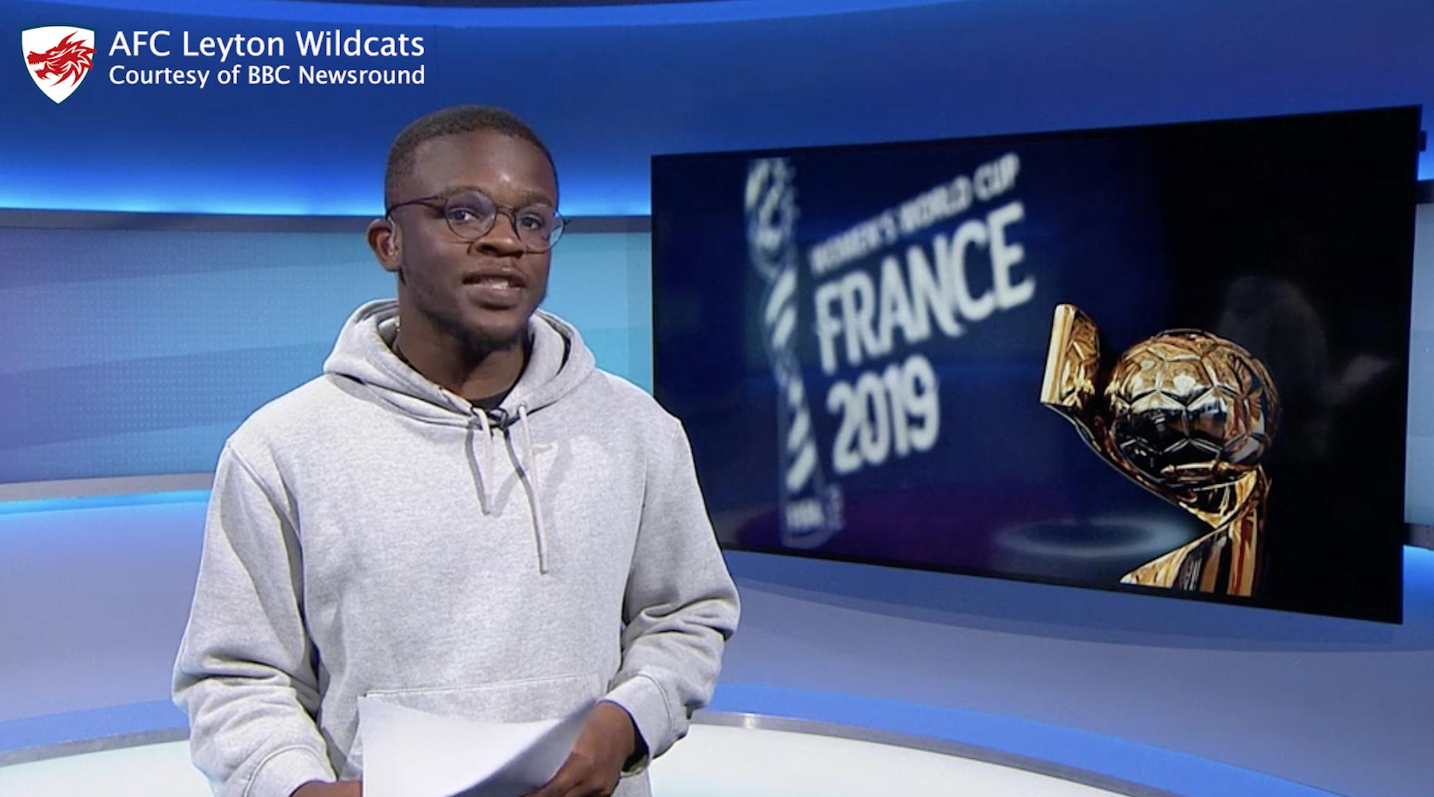 AFC Leyton Wildcats on BBC Newsround