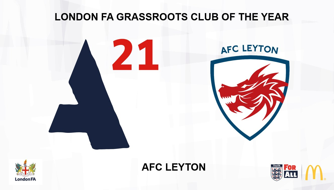AFC Leyton Awarded Grassroots Club of the Year